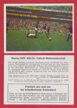 West Germany v Peru Franz Beckenbauer 29 (F)
